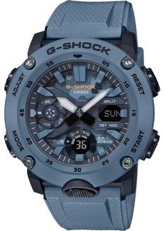 G-Shock Men's Analog-Digital Blue Resin Strap Watch 48.7mm