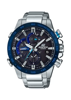 G-Shock Edifice Men's Solar Analog-Digital Stainless Steel Bracelet Watch 54mm