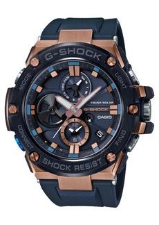 G-Shock Men's Solar G-Steel Connected Navy Resin Strap Watch 53.8mm