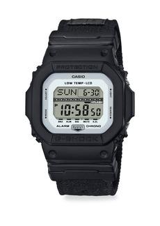 G-Shock Shock & Water Resistant Cloth Strap Watch