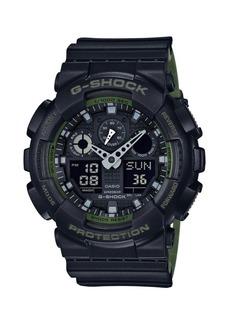G-Shock Shock Resistant Resin Ana-Digi Strap Watch
