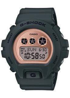 G-Shock Women's Digital Olive Resin Strap Watch 46mm