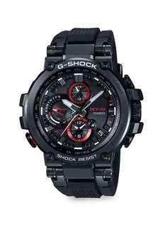 G-Shock Men's MTG Twisted Metal Stainless Steel Analogue Solar Watch