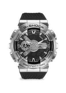 G-Shock Stainless Steel & Neobrite-Strap Chronograph Watch
