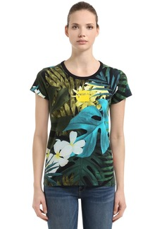 G-Star Aloha Printed Cotton T-shirt