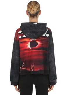 G-Star Cheiri Eclipse Hooded Cropped Sweatshirt