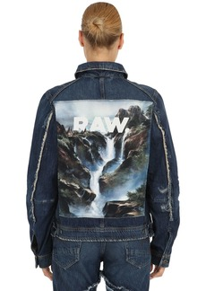 G-Star D-staq Printed Denim Jacket