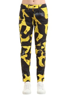 G-Star Elwood Bumblebee Poison Frog Print Jeans