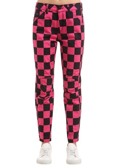 G-Star Elwood Chef's Check Printed Jeans