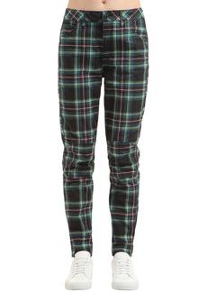 G-Star Elwood Royal Tartan Print Denim Jeans