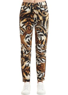G-Star Elwood Tiger Print Denim Jeans