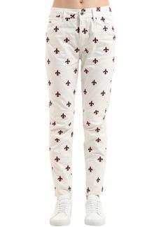 G-Star Fleur De Lys Print Denim Jeans