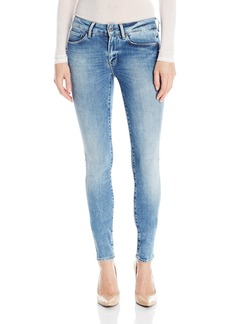 G-Star Raw Women's 3301 High Rise Skinny Fit Jean in Nippon Superstretch  27