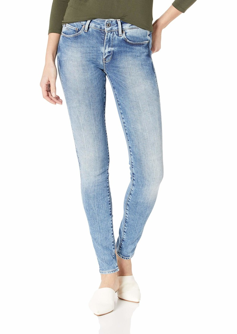 G-Star Raw Women's 31 High Rise Skinny Fit Jean in Nippon Superstretch