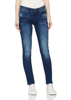 G-Star Raw Women's 3301 High Skinny Jeans in Yzzi Stretch Denim
