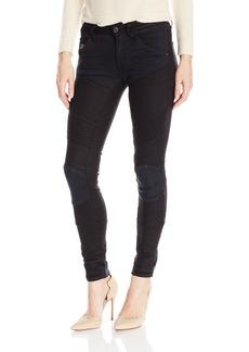 G-Star Raw Women's 5620 Custom Mid Skinny Pattern Mix Jeans