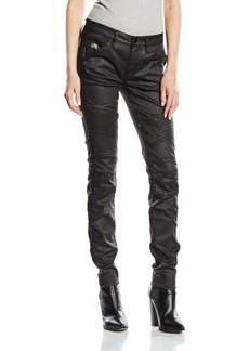G-Star Raw Women's 5620 Mid Skinny Jeans in Distro Black Superstretch
