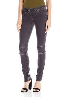 G-Star Raw Women's Lynn Mid Rise Custom Skinny Fit Colored Jean In Slander Superstretch Overdye  27