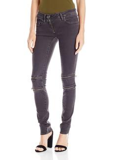 G-Star Raw Women's Lynn Mid Rise Custom Skinny Fit Colored Jean in Slander Superstretch Overdye  26