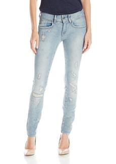 G-Star Raw Women's Lynn Mid Rise Skinny Fit Jean in Notto Stretch