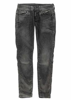 G-Star Raw Women's Lynn Mid Skinny Jeans 3D dk Aged Cobler