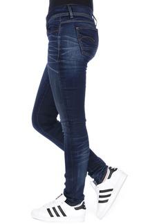 G-Star Raw Women's Lynn Mid Skinny Slander Blue Super Stretch  Jean 29/32