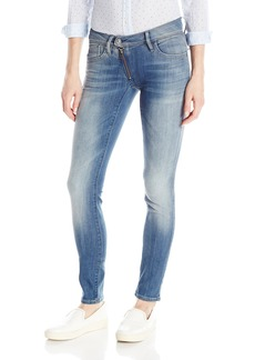 G-Star Raw Women's Lynn Zip Midrise Skinny Bionic Slander Super Stretch  Jean  27/32