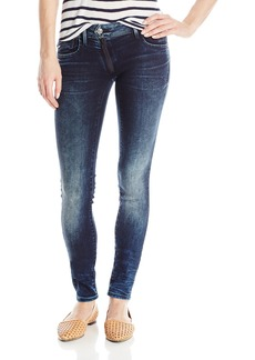 G-Star Raw Women's Lynn Zip Midrise Skinny Stretch Denim Jean