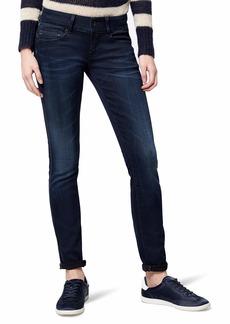 G-Star Raw Women's Midge Cody Midrise Skinny Slander Blue Super Stretch Jean