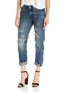 G-Star Raw Women's Midge Low Rise Boyfriend Fit Jean 7/8 Length In Caber Denim  71