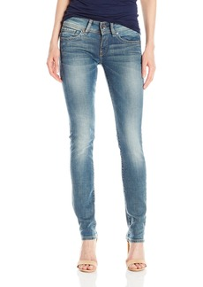 G-Star Raw Women's Midge Saddle Mid Rise Straight Leg Jean in Maidu Stretch