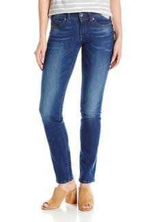 G-Star Raw Women's Midge Saddle Mid Straight Jeans in Yzzi Stretch Denim