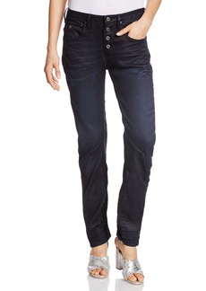 G-Star Raw Women's New Arc 3d Button Low Boyfriend Jeans
