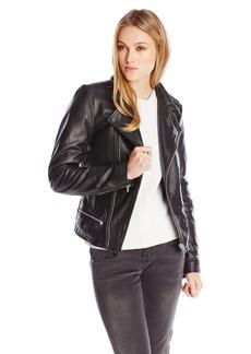 G-Star Raw Women's Vinferre Leather Biker Jacket