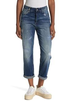 G-Star Midge High Distressed Boyfriend Jeans