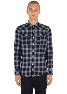 G Star Raw Denim 3301 Cotton Flannel Shirt
