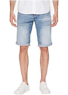 G Star Raw Denim 3301 Denim Shorts in Sato Medium Aged
