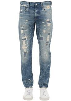 G Star Raw Denim 3301 Destroyed Tapered Denim Jeans