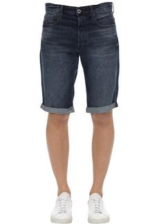 G Star Raw Denim 3301 Sato Cotton Denim Shorts