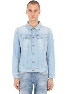 G Star Raw Denim 3301 Slim Cotton Blend Denim Jacket