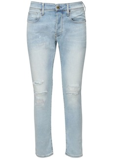 G Star Raw Denim 3301 Slim Cotton Denim Jeans