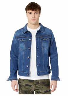 G Star Raw Denim 3301 Slim Jacket in Faded Stone