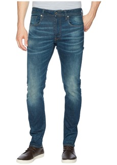 G Star Raw Denim 3301 Slim Jeans in Medium Aged Beln Stretch Denim
