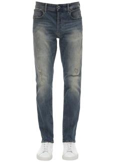G Star Raw Denim 3301 Slim Stretch Cotton Denim Jeans
