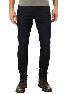 G Star Raw Denim 3301 Tapered Fit Jeans in Visor Stretch Denim Dark Aged