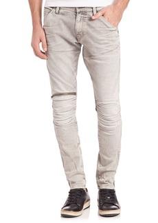 G Star Raw Denim 3D Zip Straight Leg Jeans