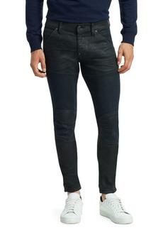 G Star Raw Denim 5620 3D Zip Knee Super Slim Jeans