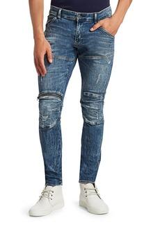 G Star Raw Denim 5620 Zip Knee Super Slim Jeans
