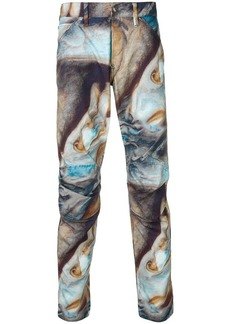 G Star Raw Denim abstract print trousers