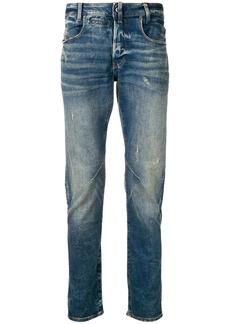 G Star Raw Denim aged antic destroyed jeans
